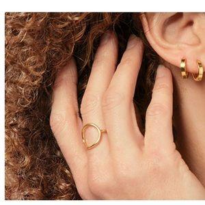 NIB - Premier Designs Brooklyn Ring - Gold